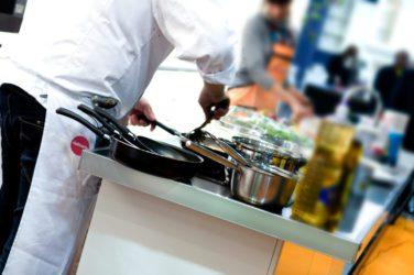 Cocina transportada en caliente o en frío